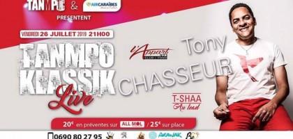 Tanmpo Klassik Live invite Tony chasseur