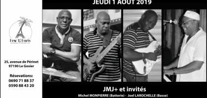 JMJ+ et invités en concert au New Ti Paris