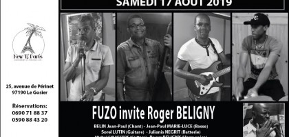Fuzo invite Roger Beligny au New Ti Paris