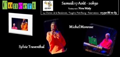 Concert Sylvie Traventhal et Michel Monrose