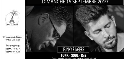 Funky Fingers en concert Funk Soul et RnB au New Ti Paris