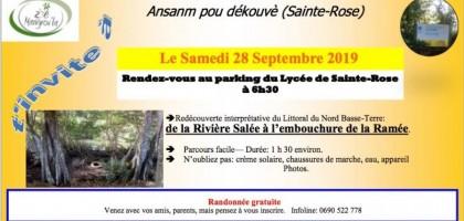 découverte du littoral de Sainte-Rose