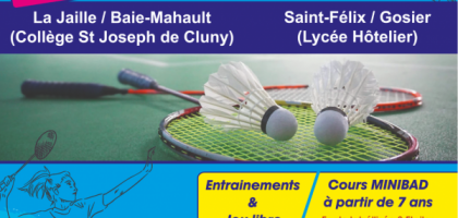 BADMINTON DECOUVERTE
