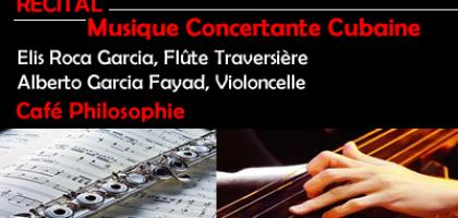 Musique Concertante Cubaine au Café Philosophie