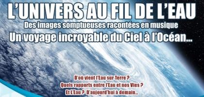 L'UNIVERS AU FIL DE L'EAU - 13 Novembre 2019 19H00 - HABITATION MURAT