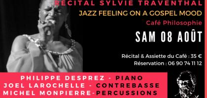 Sylvie Traventhal et le Trio In Nomine au Café Philosophie