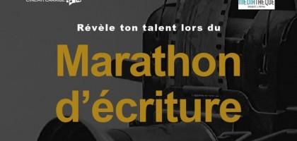 Inscription à la présentation du marathon d'écriture : le jeudi 21 janvier 2021