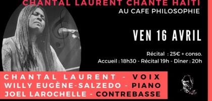 Chantal Laurant chante Haït