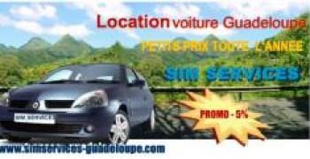 Sim Services, location de voiture en Guadeloupe