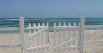 Villa 6/10 pers. directement située sur la plage : Saint François Guadeloupe