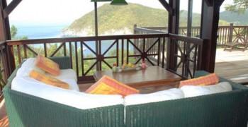 Villa du jardin botanique deshaies : location villa Guadeloupe