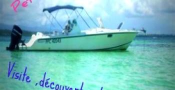 Sorties bateau en Guadeloupe Jean des îles