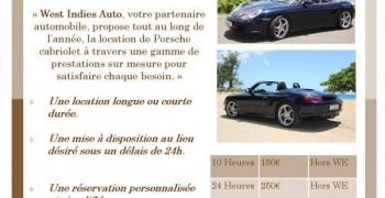Location voiture de luxe porsche cabriolet