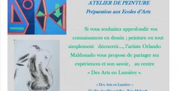 Atelier d'Arts Plastiques - Préparation aux écoles d'Arts