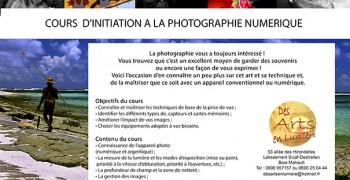 Atelier photographie numérique