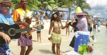 Journée Croisière dansante à l'Îlet Caret à bord du King Papyrus