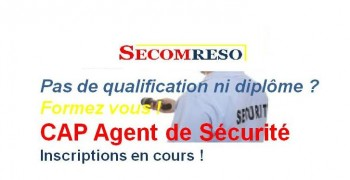 CAP Agent de Sécurité