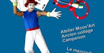 Atelier cours de magie / jonglerie / mime