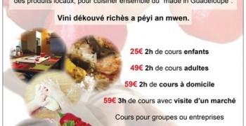 Cours De Cuisine GrandeTerre Guide De La Guadeloupe - Cours de cuisine en guadeloupe
