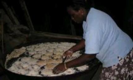 Chez Germaine : Vente de cassave
