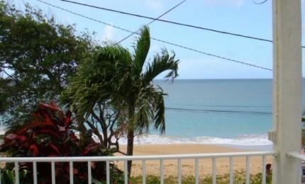 Location face à la plage