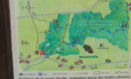 Sentier botanique de Deville-Maisoncelle