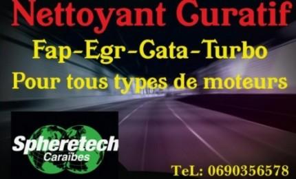 Nettoyant CURATIF, FAP-EGR-CATA-TURBO (pour tous types de moteurs)