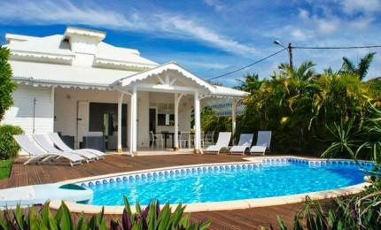 ANTILLES - GUADELOUPE : location villas vacances